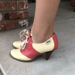 Candy Colored Oxford Heels by Bass